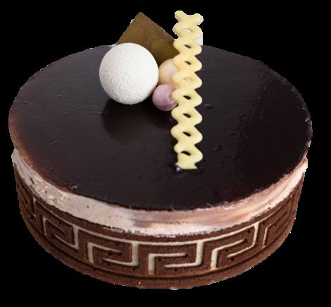 Chocolade ijstaart web
